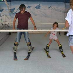 The Ski Deck - Enjoy all the fun of bum-boarding, slope surfing and sliding down the slope at the famous SKI DECK in Ferndale. We have a 20m bumboarding slope for smaller kids and 40m bumboarding slope for older kids.