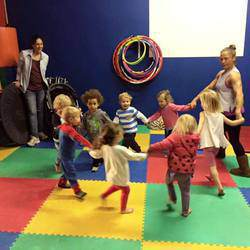 Tiny 2 Teen Tumbles - Gymnastics program for toddlers, kids and teens, enhances fitness, coordination and movement