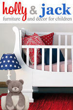 Holly and Jack - Baby & kids furniture, linen, decor, curtains & upholstery. Beds, cots, compactums, storage, seating, prams, toys & baby gear.