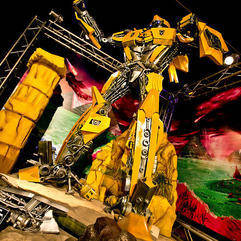 Exhibition - Transformers Animatronics