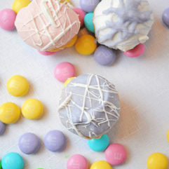Easter  - Easter truffle making