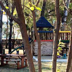 Two Trees Bakery  - Our large outdoor facility offers a great play area with zip lines for kids and shady blue gum trees to protect the family from the sweltering summer sun.