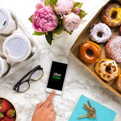 Uber Eats - Hungry? You're in the right place! Get the food you want, from the restaurants you love, delivered at Uber speed. We also deliver people and stationery, to your door or selected destination.
