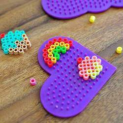 Ironing Beads  - Ironing Beads - fun, creative craft based product for children from 6+ yrs - improves fine motor skills, concentration & creativity.