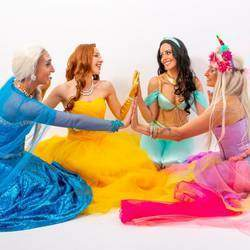 Goddess Entertainment - Bringing your favorite characters to life! Elsa, Jasmine, Belle, Moana, Ariel, Unicorn Princess and more. Dance performances, story time, tattoos, photo props. Mascots also available. Hawaiian/hula and belly dance parties.