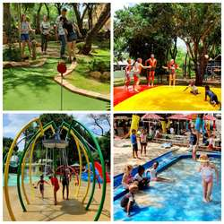 Chameleon Village  - Reptile park, kids water spray park, pool, jumping pillow, beach and playground, arts & crafts market, restaurants and more