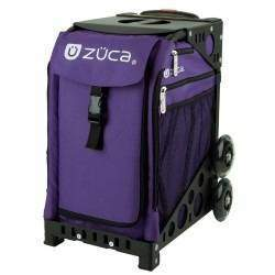 Zuca Bags - School bag on wheels you can sit on with subdivisions inside to store books and accessories . Can be used for sports, travel, camping, make up, you name it.