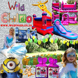 Wild Childs Kids Parties - Gorgeous decor and affordable party equipment: soft serve & candyfloss machines, kids/adults furniture & linen, p-packs; entertainers and more