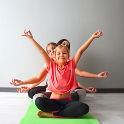 Yogetta Kids Yoga - Kids yoga specializing with special needs and paraplegic children, one-on-one or group classes, school extra mural classes as well as online classes. Breathable masks for kids.