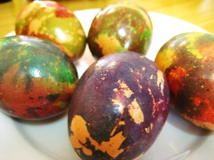 Craft of Week: Marbled Eggs