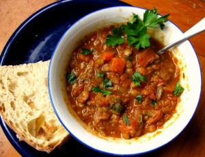 Meal-in-a-bowl Lentil Soup