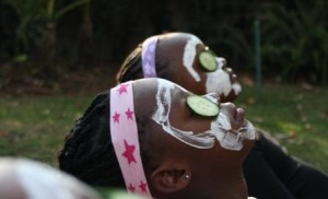Kids Pamper Parties are harmless fun, its what happens at home that matters