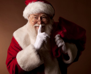 Is Father Christmas real? To lie or not to lie, that is the question!