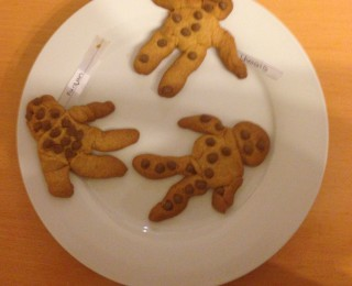 Ginger Bread Men biscuit recipe– easy to make with kids
