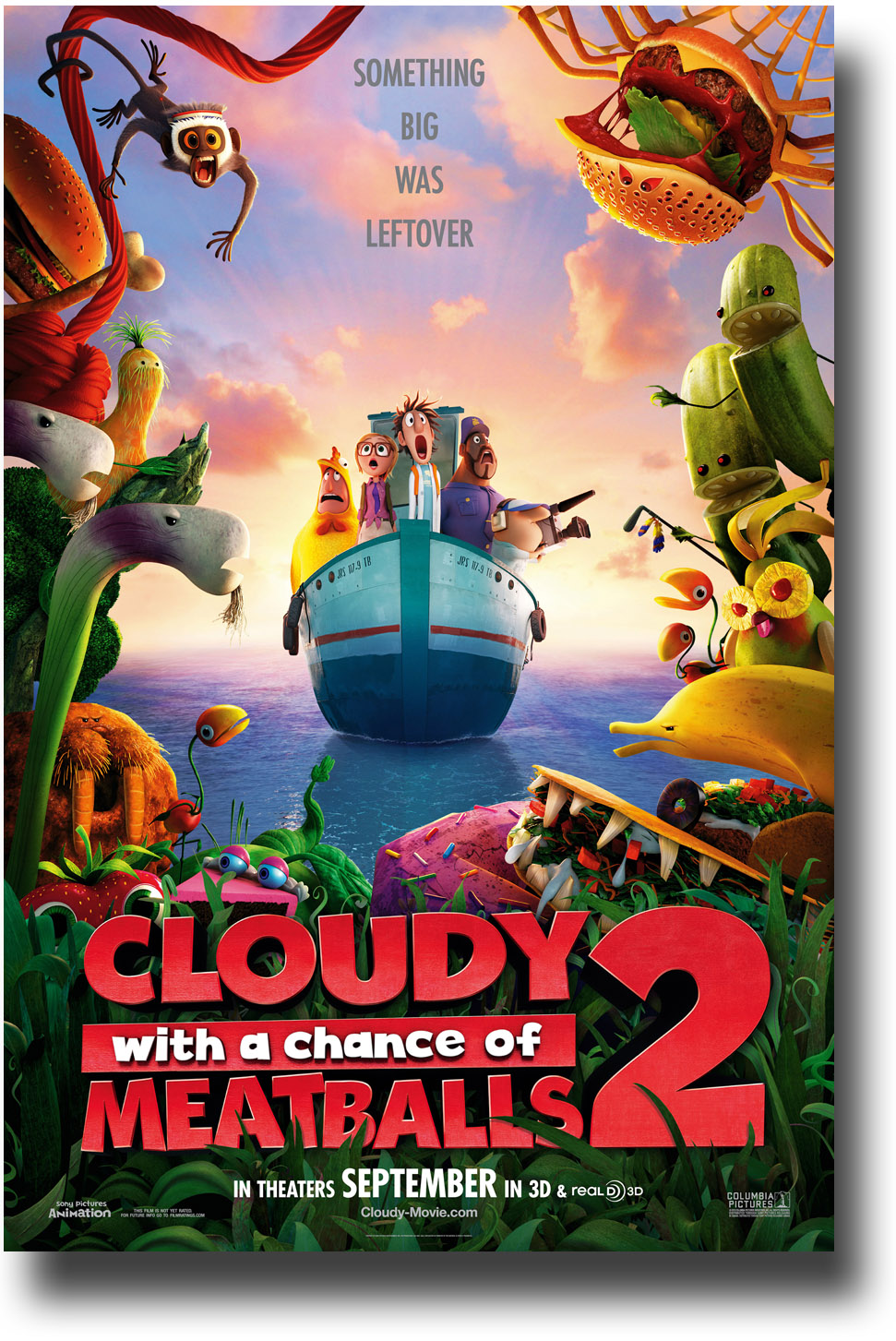 Plot Cloudy With A Chance Of Meatballs 2 Boat