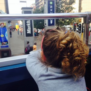 """""""I can see the whole earth from here!"""" – Milla, aged nearly-three"""