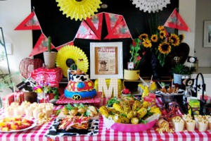 Party 2015: Décor by me; Photography by Robyn Davie Photography