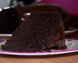 Moist And Rich Chocolate Cake
