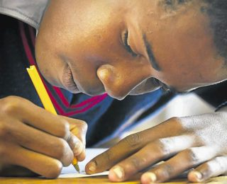 Take the pressure off writing matric