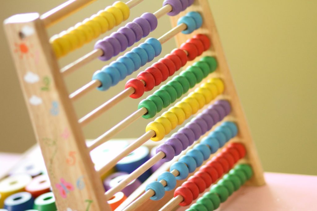 Abacus for maths learning