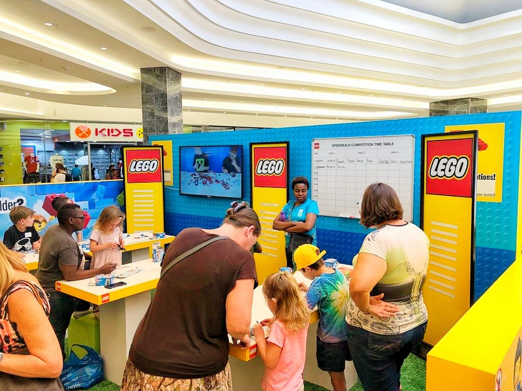 Lego Games Activation Eastgate Shopping Centre