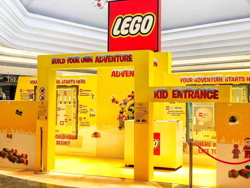 Lego Games Activation Entrance Eastgate Shopping Centre