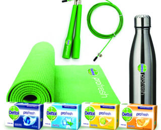 Dettol ProFresh: designed to support today's active lifestyle