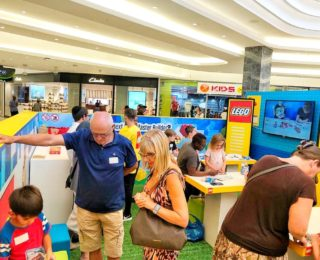 Lego Games for kids at Eastgate Shopping Centre