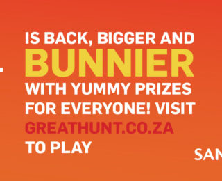 The great Sandton City Easter Egg Hunt is back !