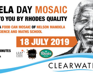 Mandela Day Food Can Mosaic @ Clearwater Mall- Join us