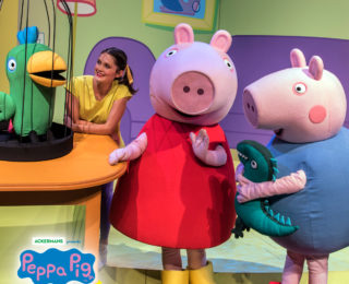 Peppa Pig's Big Day Out in South African Theatres