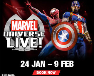 Action Packed Marvel Universe Live Heads to SA!