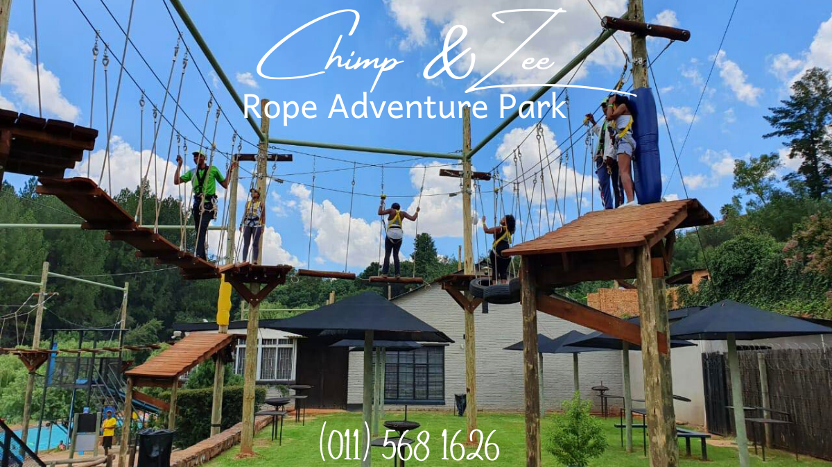 Family outings in Gauteng: Rope Adventure Park