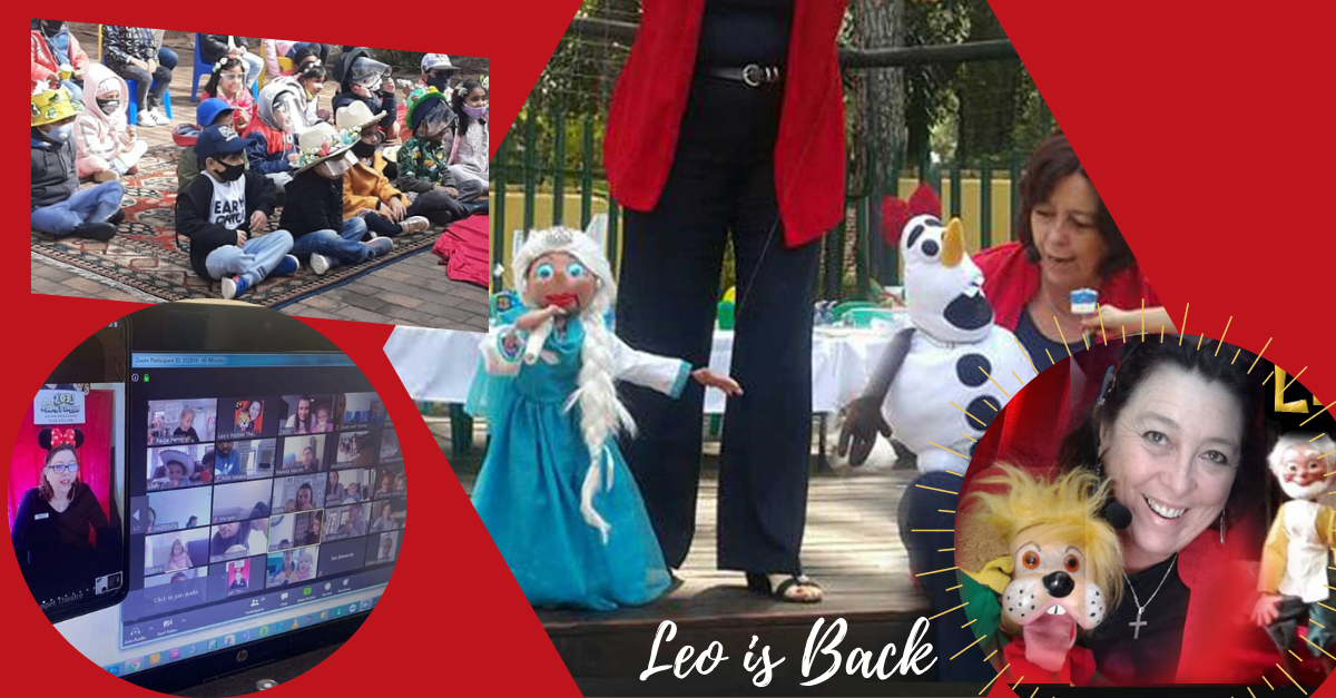 Entertainment for kids parties - Leo's puppets